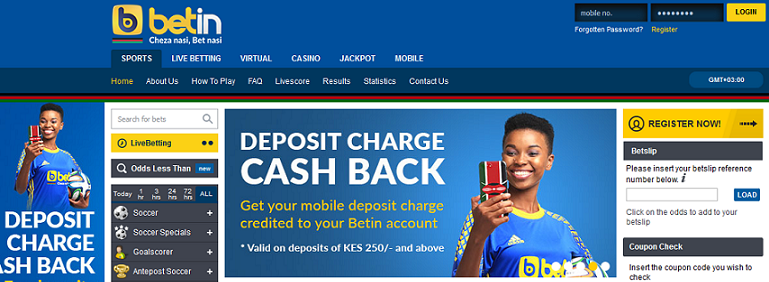 Betin kenya jackpot prizes for carnival games