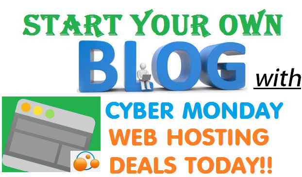 Cyber Monday Web Hosting Deals 2016