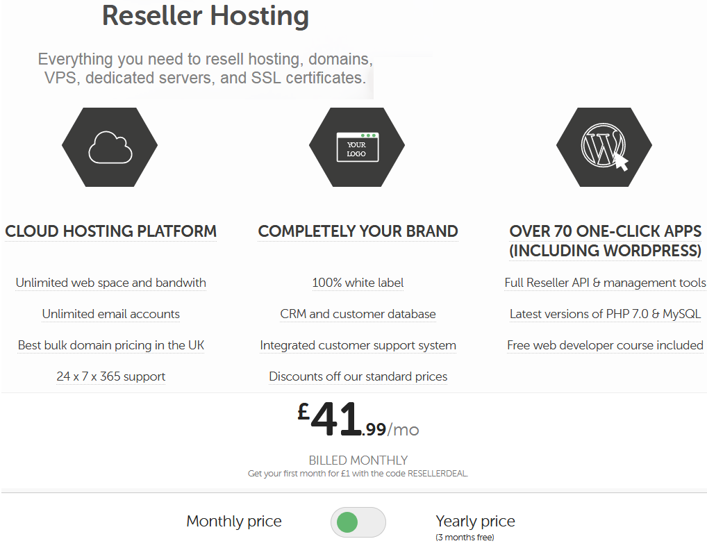 Heart Internet Reseller Hosting Pricing