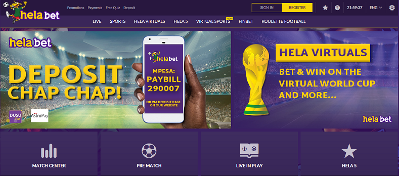 20+ List of Betting Sites in Kenya 2019 with Bonus, Cash Out