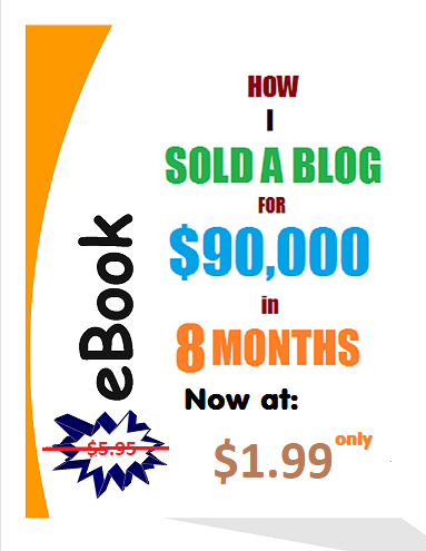 How I Sold a Blog for $90000 in 8 months
