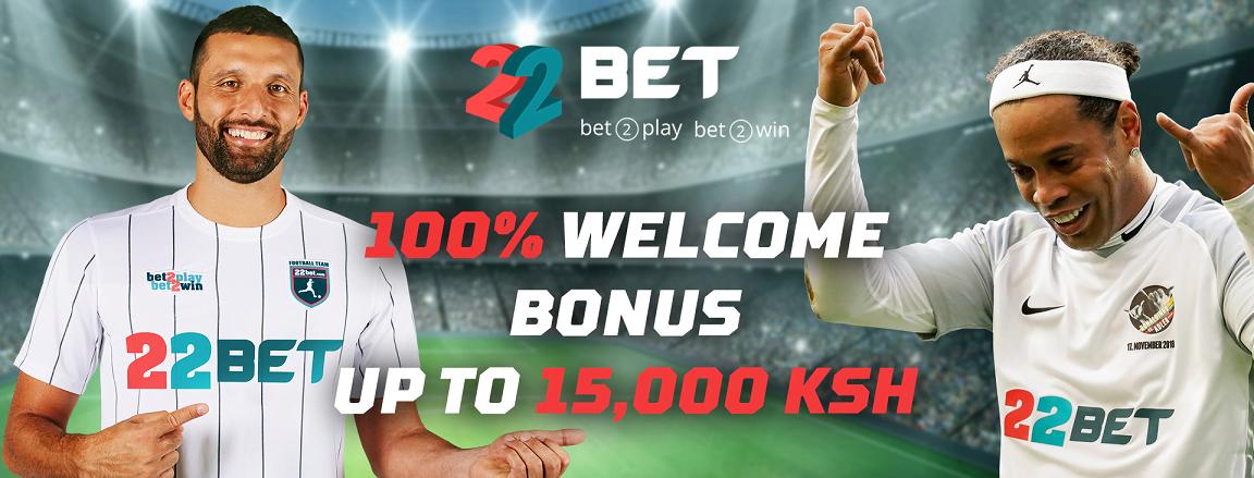 22Bet Kenya Bonus