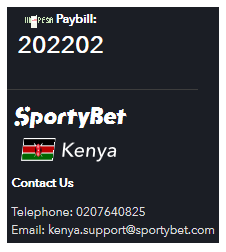SportyBet Payment Methods