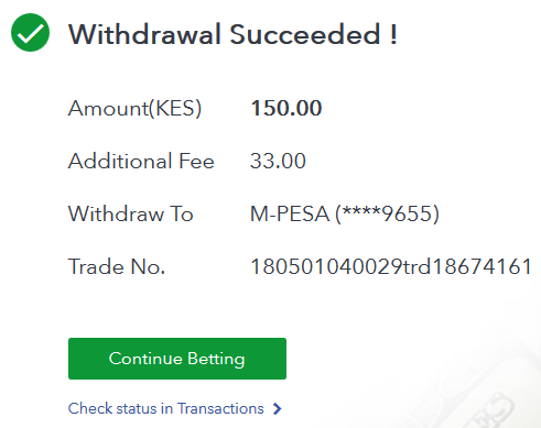 how to deposit to SportyBet via Paybill