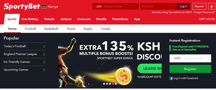 SportyBet Kenya Bonus