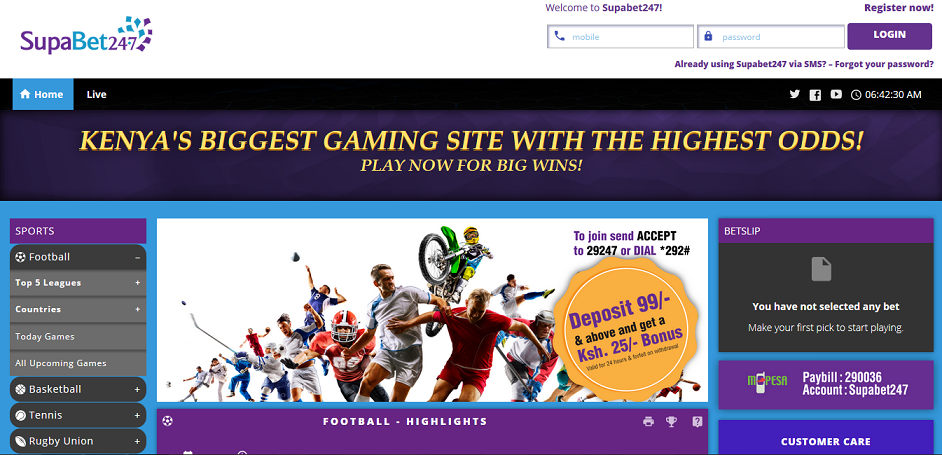 Supabet247 website