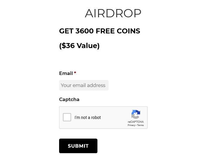 Bitcoin Black Airdrop Form