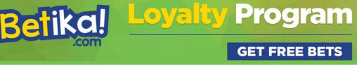 Betika loyalty bonus