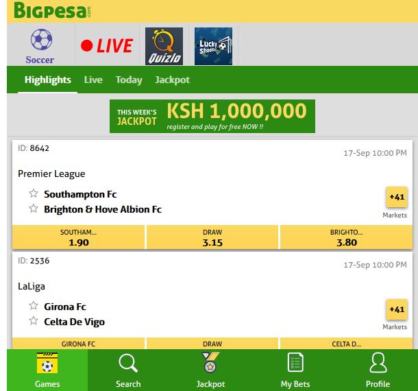 BigPesa Kenya Bonus