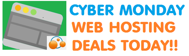 Cyber Monday Web Hosting Deals 2020