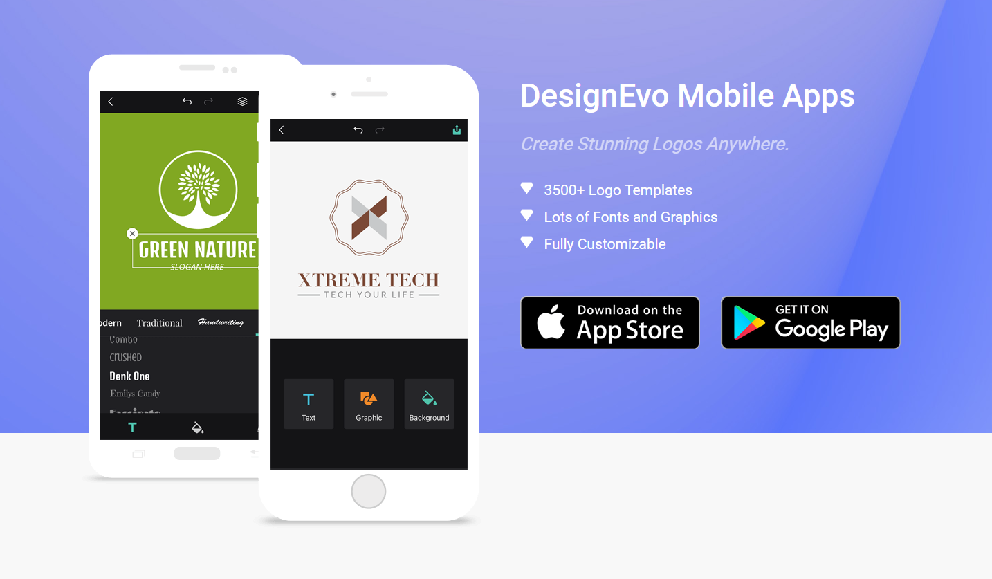 create a logo a logo with the App for Android or iOS