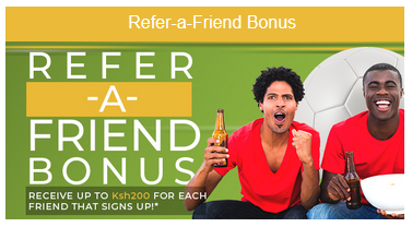 Eazibet Refer-a-friend Bonus