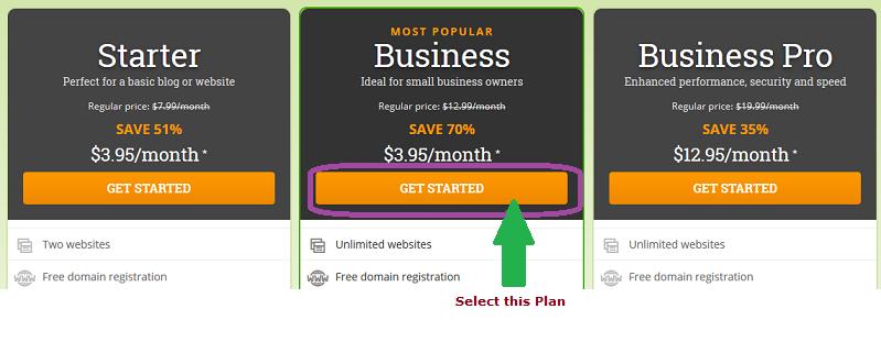 step 1: seting up your website