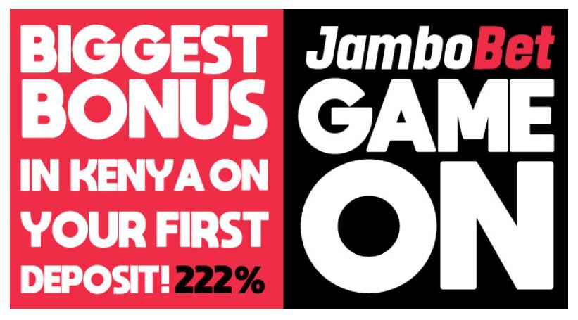 Jambo Bet Signup bonus