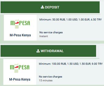 MelBet Payment Methods