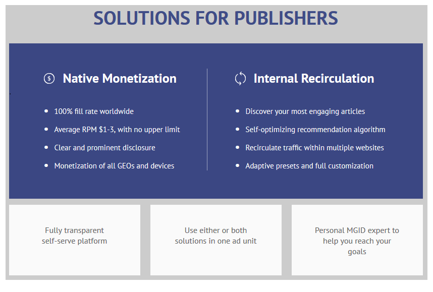 MGID review for Publishers