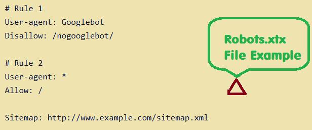 robots.txt example code