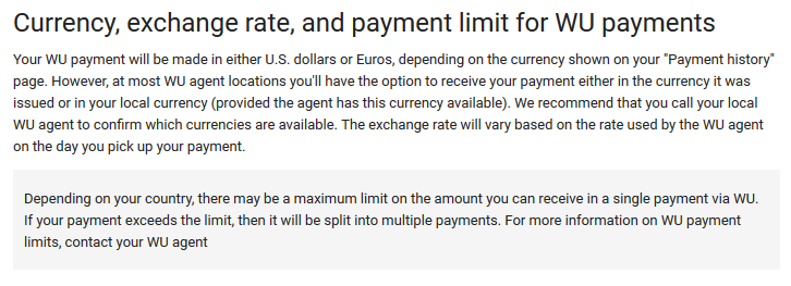 withdraw adsense money western union currency and exchange